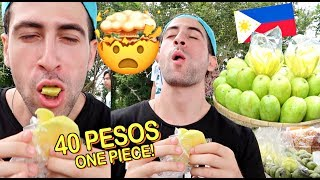 Download First Time EATING FILIPINO GREEN MANGO!! *PATAY* 😂 🇵🇭 Video