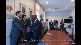 Download Visita del Director General Adjunto de la UNESCO a Argentina y Uruguay Video