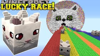 Download Minecraft: SAVAGE CLOUD LUCKY BLOCK RACE - Lucky Block Mod - Modded Mini-Game Video