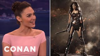 Download Gal Gadot Has No Time For Online Haters - CONAN on TBS Video