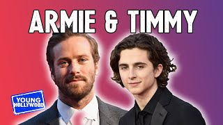 Download Armie Hammer on His Instagram Photos with Timothée Chalamet! Video