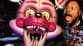 Download EVERY ANIMATRONIC EVER. (we're gonna die..)   FNAF: Ultimate Custom Night #1 Video