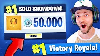 Download Playing Fortnite: Battle Royale for 50,000 V-BUCKS...! Video