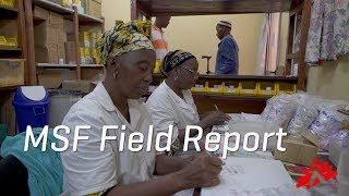 Download Treating AIDS Patients in Guinea Video
