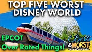 Download TOP 5 WORST Epcot Over Rated Things! | Best & Worst | 11/02/16 Video