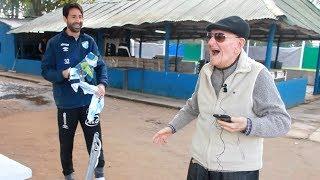 Download Lucchetti sorprende a un abuelo hincha de Atlético y le regala una camiseta. Video