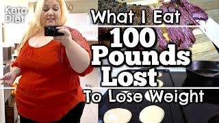 Download Keto Meals: What I Ate to LOSE 100 POUNDS - Breakfast Lunch Dinner and Keto Snacks Video