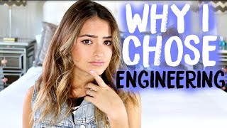 Download WHY I CHOSE ENGINEERING + HOW TO CHOOSE YOUR MAJOR | Natalie Barbu Video