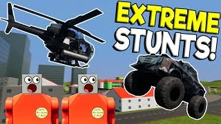 Download EXTREME LEGO STUNT SHOW & TOWER SURVIVAL?! - Brick Rigs Multiplayer Gameplay - Lego Crashes Video