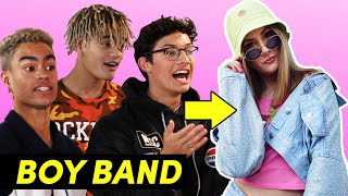 Download A Boy Band Styled Me For A Week Feat. PRETTYMUCH Video