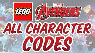 Download ​ LEGO Marvel's Avengers - All Character Cheat Codes Video