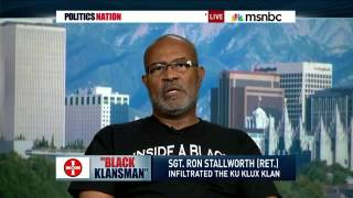Download Ron Stallworth with Al Sharpton on MSNBC Video