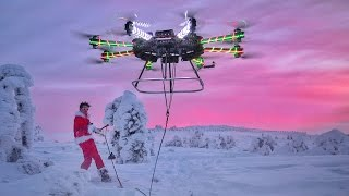 Download WORLDS LARGEST HOMEMADE DRONE Video