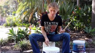 Download Bucket Drums - Lesson! Video