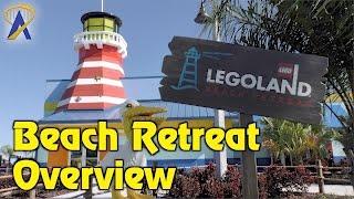 Download Legoland Beach Retreat tour - lighthouse, coves, pool at Legoland Florida Resort Video
