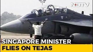 Download ″It Was Really Smooth″: Singapore Defence Minister Flies India's Tejas Fighter Video