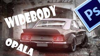 Download Opala Widebody (photoshop speedart) Video