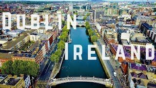 Download Dublin Ireland 4k Footage (Drone) Video