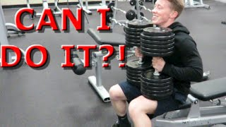 Download 140 Pound Dumbbell Bench Press - Can I Do It? Video