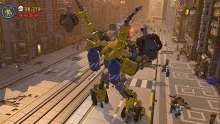 Download The LEGO Movie Videogame - Bricksburg Under Attack 100% Guide (Gold Instruction Pages/Pants) Video