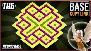 Download New BEST TH6 TROPHY/HYBRID[defense] Base 2018!! COC Town Hall 6 Hybrid Base Design - Clash of Clans Video
