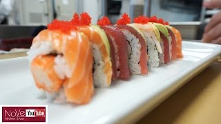 Download Rainbow Roll - How To Make Sushi Series Video