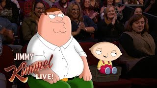 Download Jimmy Kimmel Talks to Peter & Stewie Griffin from Family Guy Video