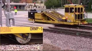 Download How a Railroad Replaces Ties: Every Machine Shown Video