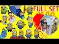 MEU MALVADO FAVORITO 3 | 2017 Despicable Me 3 Minions McDonald's Happy Meal Toys Full Set
