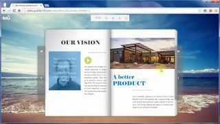 Download The best e-Publishing solution offered by CSS3 flip book animation maker PUB HTML5 Video