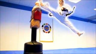 Download Taekwondo Kicking & Training Sampler on the BOB XL Video