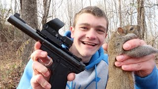 Download Squirrel Hunting with a Pistol! Video