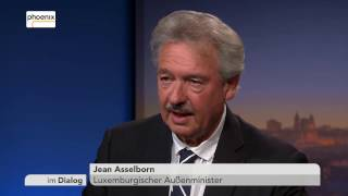 Download Im Dialog: Michael Hirz mit Jean Asselborn vom 20.01.2017 Video