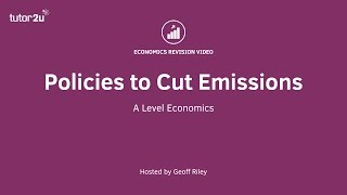 Download Evaluating Policies to Cut Carbon Emissions Video