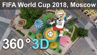 Download 360 video, Moscow before FIFA World Cup 2018 Video