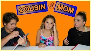 Download COUSIN VS MOM | WHO KNOWS ME BEST ? | SISTER FOREVER Video