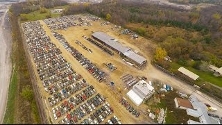 Download CANADA's LARGEST junkyard with Free auto parts Video