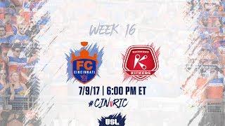 Download USL LIVE - FC Cincinnati vs Richmond Kickers 7/9/17 Video