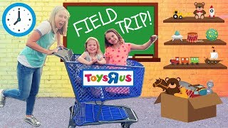 Download Toy School Field Trip to a REAL Toys R Us !!! Video