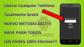 Download Liberar Cualquier Celular Totalmente Gratis 2017!! Para Todos Los Paises !!Nuevo Metodo!! Video