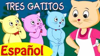 Download TRES GATITOS | Canciones infantiles en Español | ChuChu TV Video