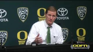 Download POST GAME: Oregon Head Coach Dana Altman Discusses 85-58 Win Over Arizona Video