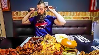 Download Hunger Games 10lb Undefeated BBQ Challenge @ Huckleberry's, Yeadon Video