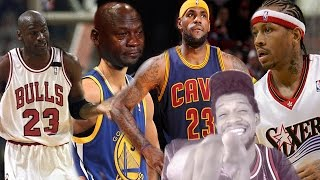 Download LMFAOOO NO CURRY!!! NBA BEST PLAYER EVER BY TEAM REACTION! Video