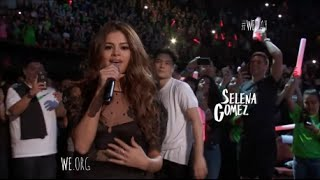 Download Selena Gomez Performs ″Kill Em With Kindness″ At We Day California 4/7/2016 [HD] Video