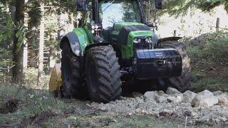 Download Réfection et rénovation de chemin forestier et agricole avec Deutz7250 TTV et Kirpy BPS 250 Video