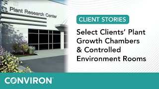 Download Select Clients' Plant Growth Chambers & Controlled Environment Rooms Video