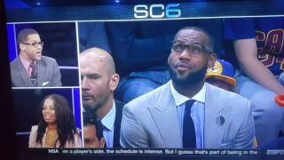 Download Lebron James: Give it a Rest! Video