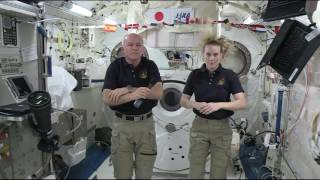 Download Space Station Crewmembers Discuss Life in Space with the Media Video