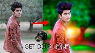 Download Get DSLR Look on PicsArt    Picsart editing tutorial    Taukeer Editz Video